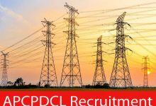 Photo of APCPDCL Recruitment 2021 |86 Energy Assistant Posts |Apply Online