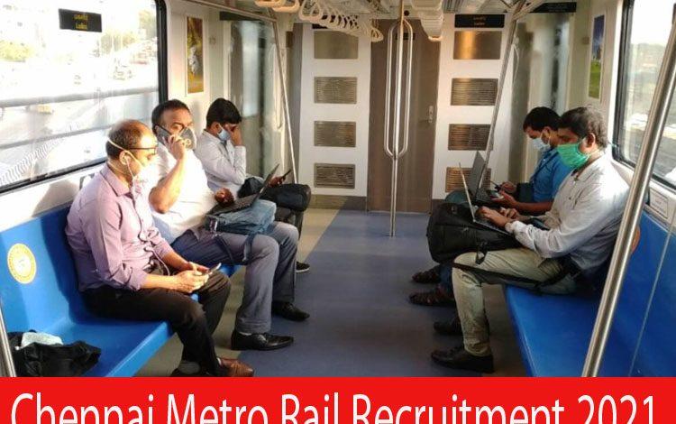 Chennai Metro Rail Recruitment