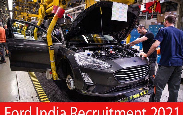 Ford India recruitment