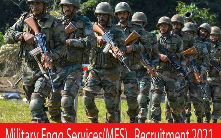 Military Engg Services(MES) Recruitment