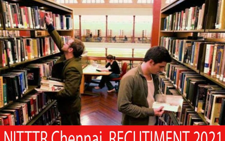 NITTTR Chennai Recruitment