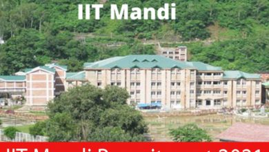 Photo of IIT Mandi Recruitment 2021 | 43 JE, Junior Assistant & Other Posts | Apply Online