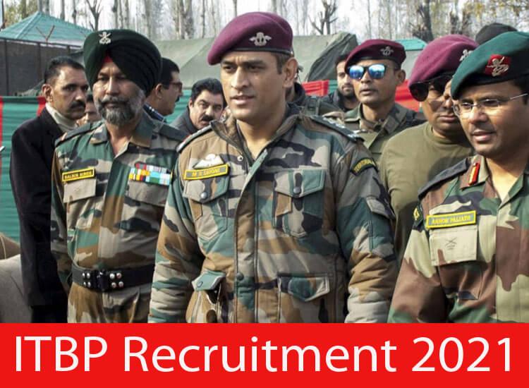 ITBP Recruitment 2021