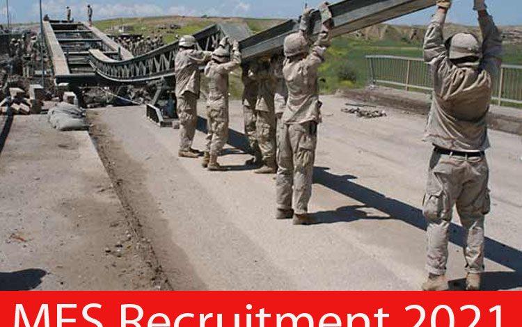 MES Recruitment 2021