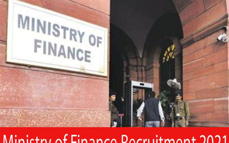 Ministry of Finance Recruitment 2021
