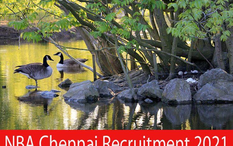 NBA Chennai Recruitment 2021