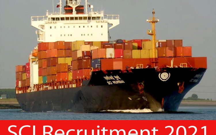 SCI Recruitment 2021