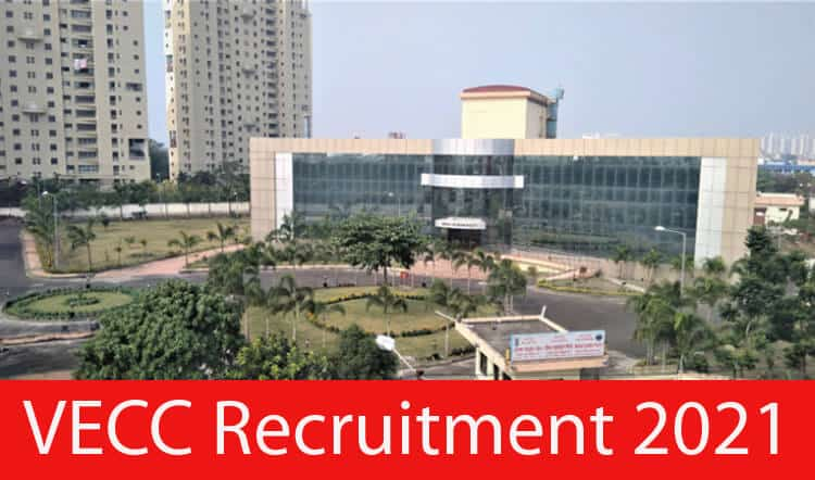 VECC Recruitment 2021