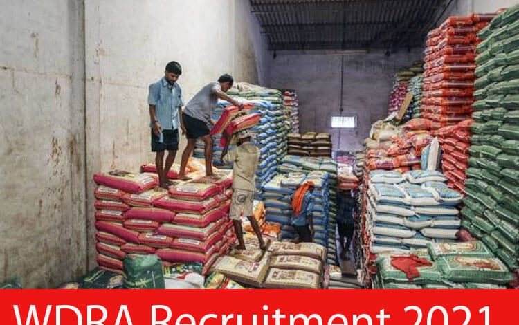WDRA Recruitment 2021