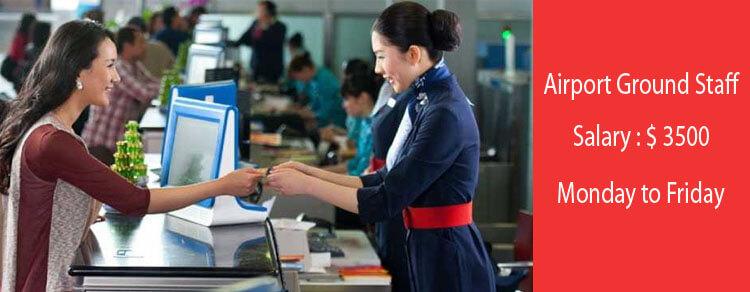 Air port Ground staff 2021