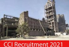 Photo of CCI Recruitment 2021 | 46 Engineer & Officer Posts | Apply Online