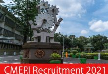 Photo of CMERI Recruitment 2021 | 28 Project Assistant & Other Posts | Apply Online