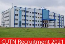 Photo of CUTN Recruitment 2021 |  JRF/ Project Fellow  Posts | Apply Online