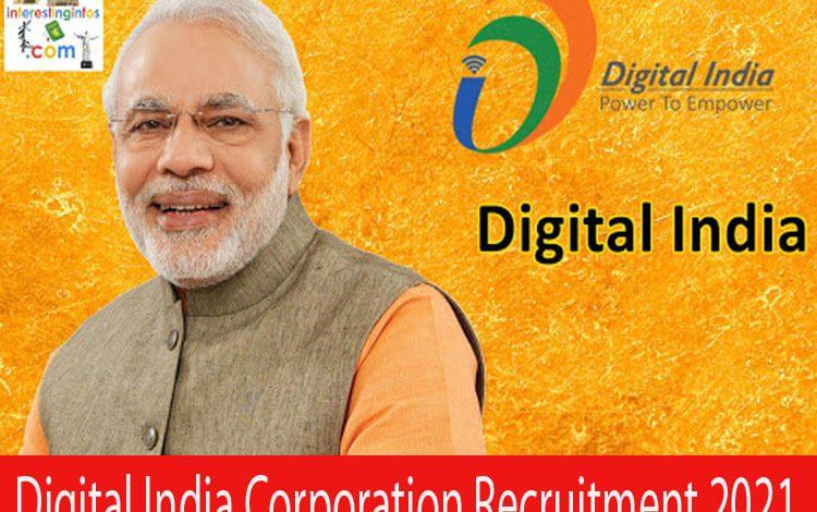 Digital India Corporation Recruitment 2021