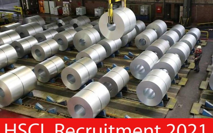 HSCL Recruitment 2021