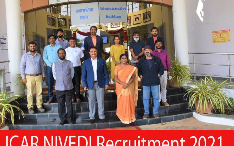 ICAR NIVEDI Recruitment 2021