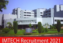 Photo of IMTECH Recruitment 2021 | Technician, JE & Other Posts | Apply Online