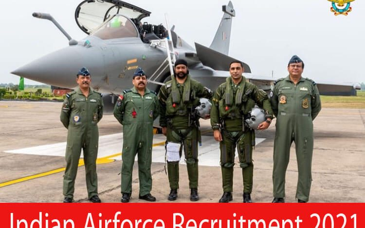 Indian Airforce Recruitment 2021