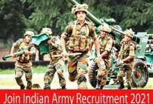 Photo of Join Indian Army Recruitment 2021 | 191 SSC (Tech) Men/ Women & Other  Posts | Apply Online