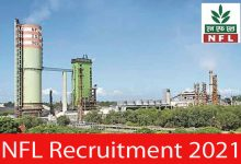 Photo of NFL Recruitment 2021 | 23 Accounts Officer & Other Posts | Apply Online
