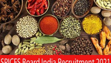 Photo of SPICES Board India Recruitment 2021 | 12 Trainee Analyst & Other Posts | Apply Online