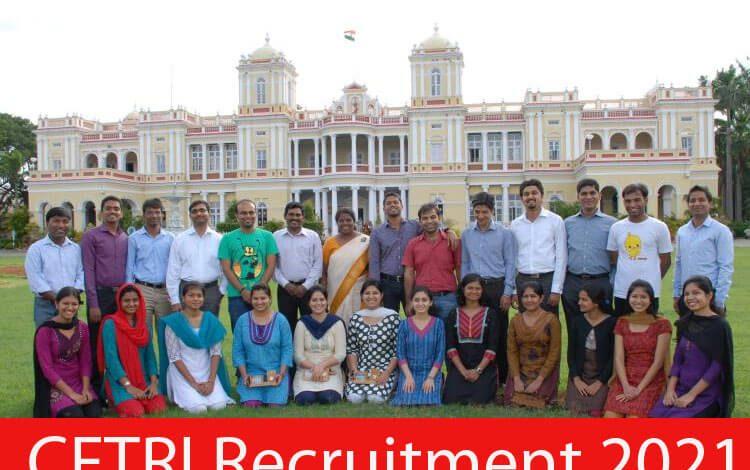 CFTRI Recruitment 2021
