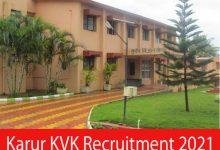 Photo of Karur KVK Recruitment 2021 | Programme Assistant Posts | Apply Online