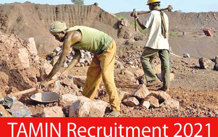 TAMIN Recruitment 2021