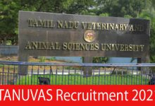 Photo of TANUVAS Recruitment 2021 | Junior Research Fellow Posts | Apply Online
