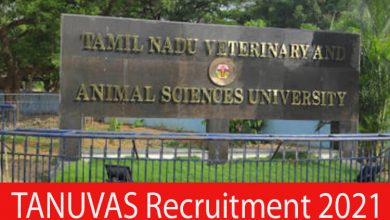 Photo of TANUVAS Recruitment 2021 | Various Project Assistant & Other Posts | Apply Online