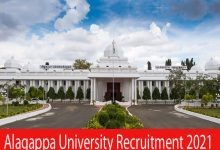 Photo of Alagappa University Recruitment 2021 | Various Project Fellow & Other Posts | Apply Online
