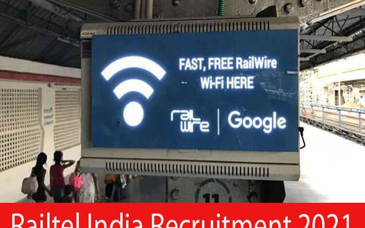 Railtel India Recruitment 2021